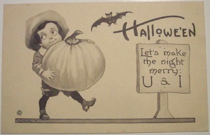 Ilustraciones vintage Halloween 141