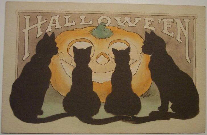 Ilustraciones vintage Halloween 143