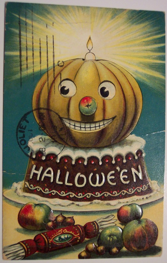 Ilustraciones vintage Halloween 144