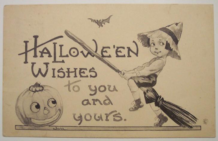 Ilustraciones vintage Halloween 146