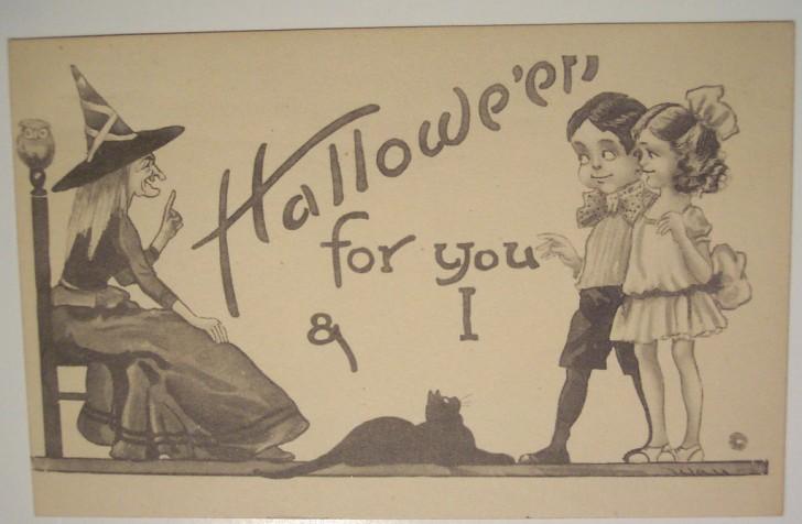 Ilustraciones vintage Halloween 147