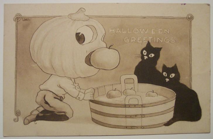 Ilustraciones vintage Halloween 148