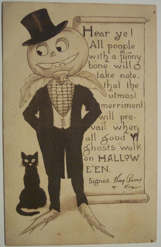 Ilustraciones vintage Halloween 149