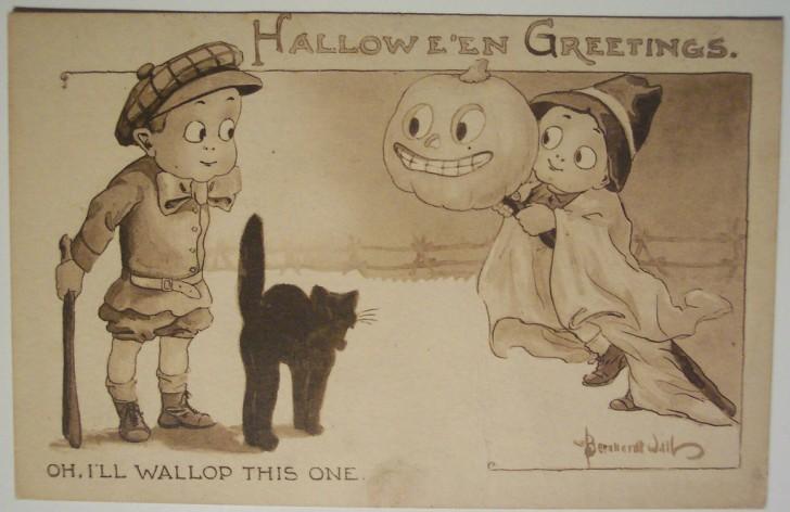 Ilustraciones vintage Halloween 150