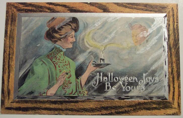 Postal Halloween retro 004