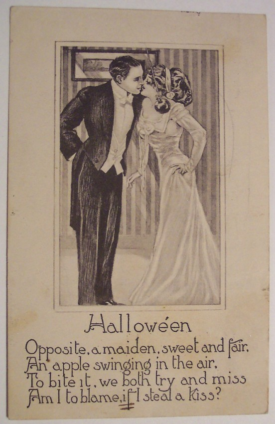 Postal Halloween retro 020