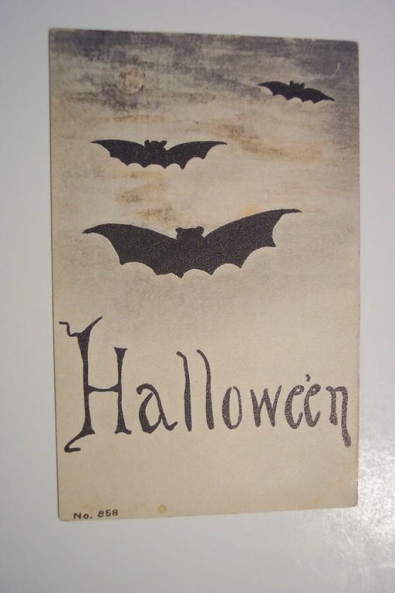 Postal Halloween retro 032