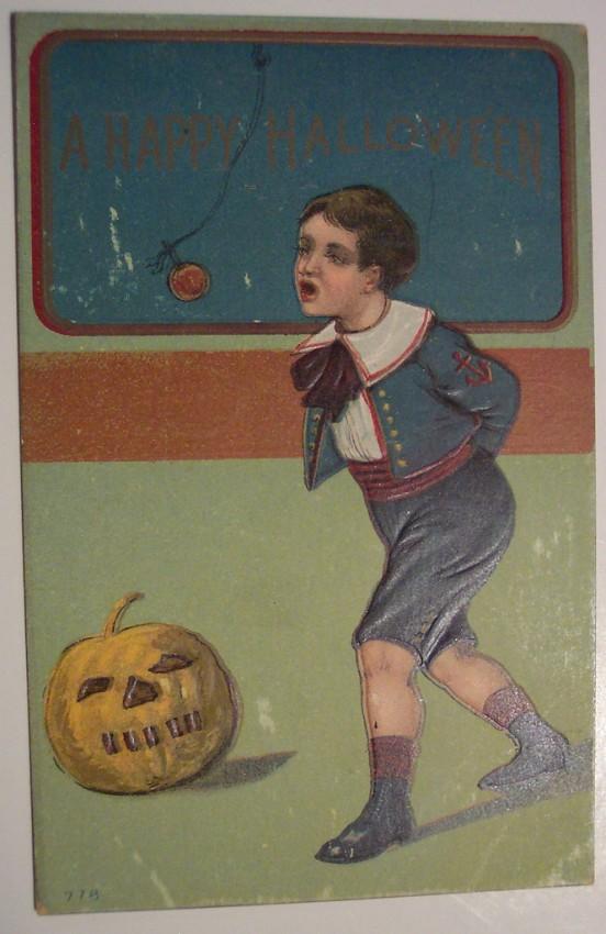 Postal Halloween retro 040