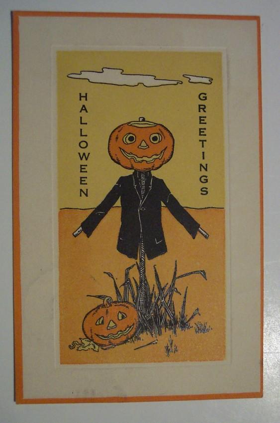 Postal Halloween retro 050