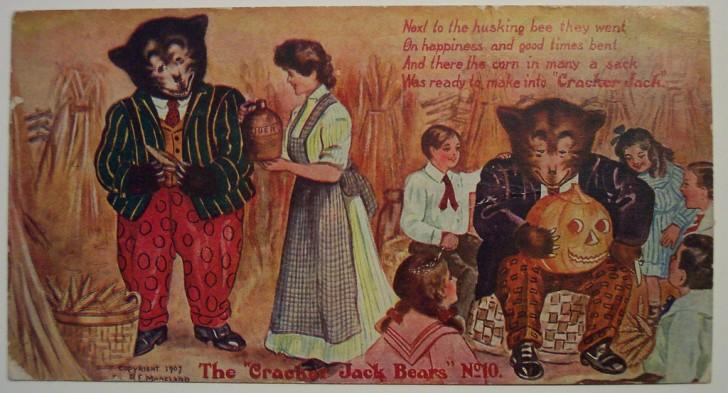 Postal Halloween retro 055