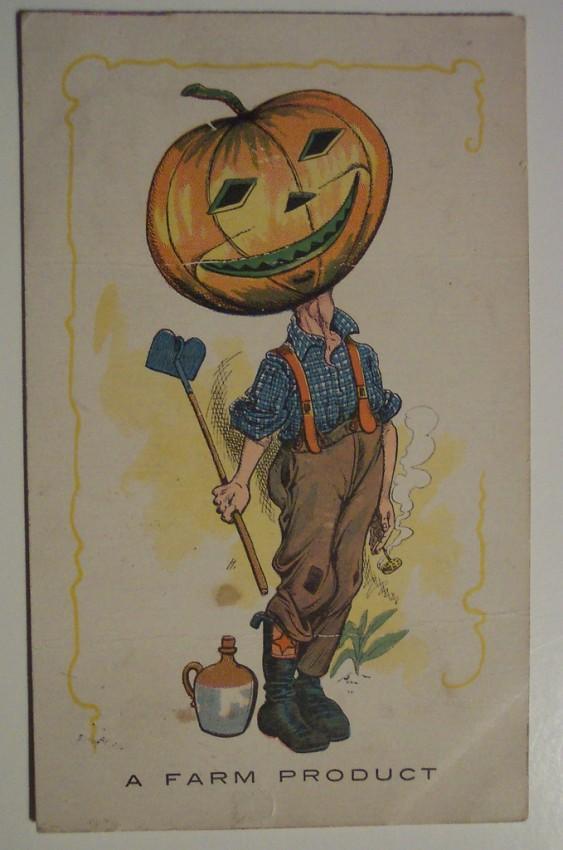 Postal Halloween retro 094