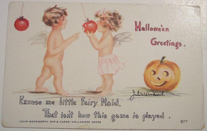 Postal Halloween retro 108