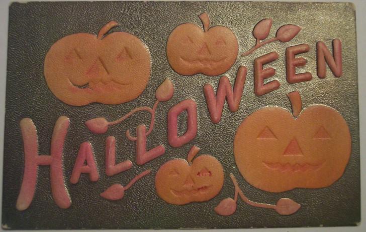 Postal Halloween retro 161