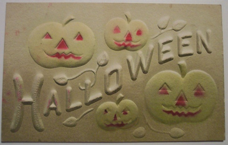Postal Halloween retro 169