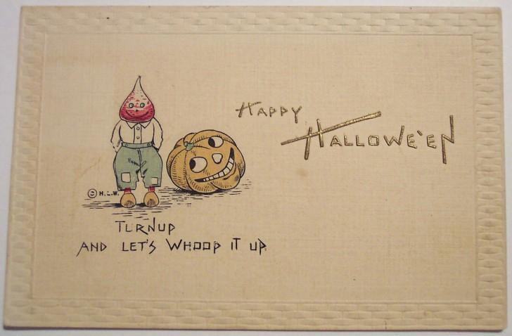 Postal Halloween retro 180