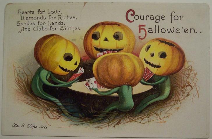 Postal Halloween vintage 021