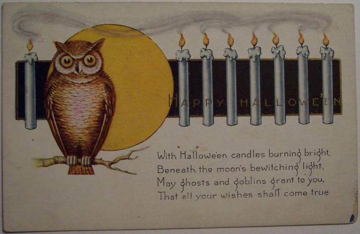 Postal Halloween vintage 045