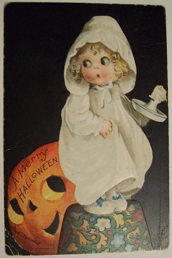 Postal Halloween vintage 081