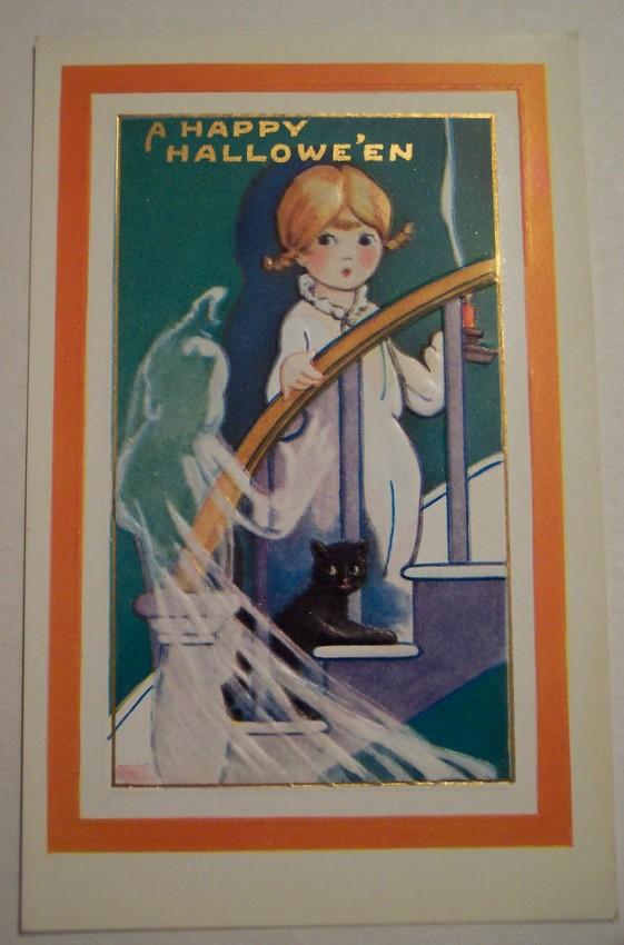 Postal Halloween vintage 101