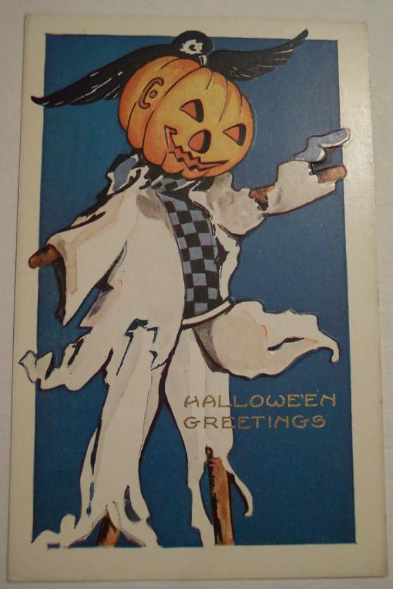 Postal Halloween vintage 108