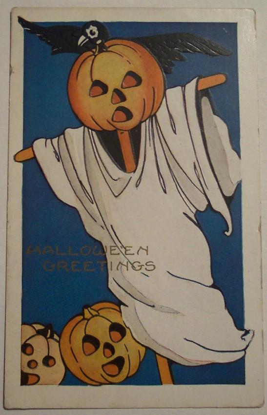Postal Halloween vintage 109