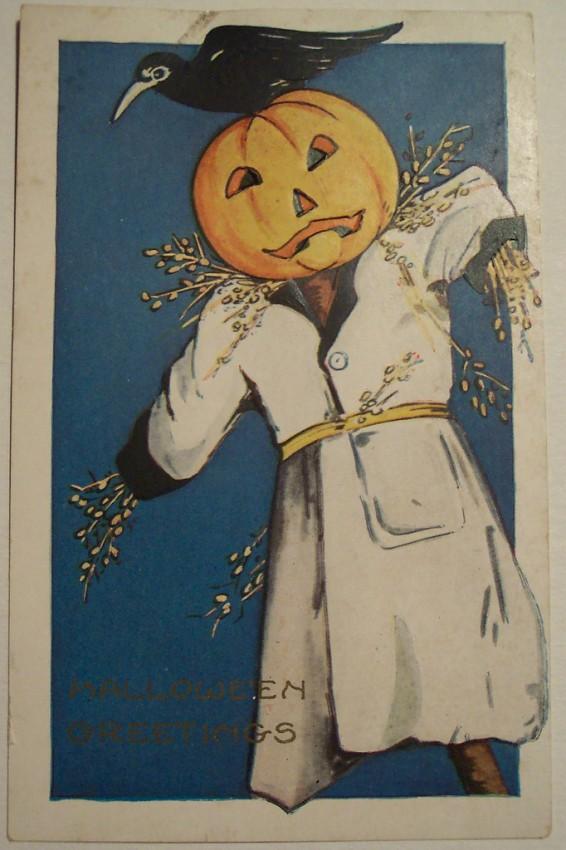 Postal Halloween vintage 110