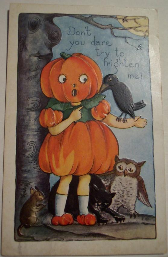 Postal Halloween vintage 111