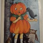 Ilustraciones de Halloween retro