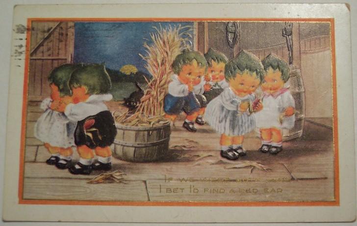 Postal Halloween vintage 114