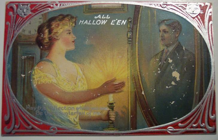 Postales Halloween retro 001