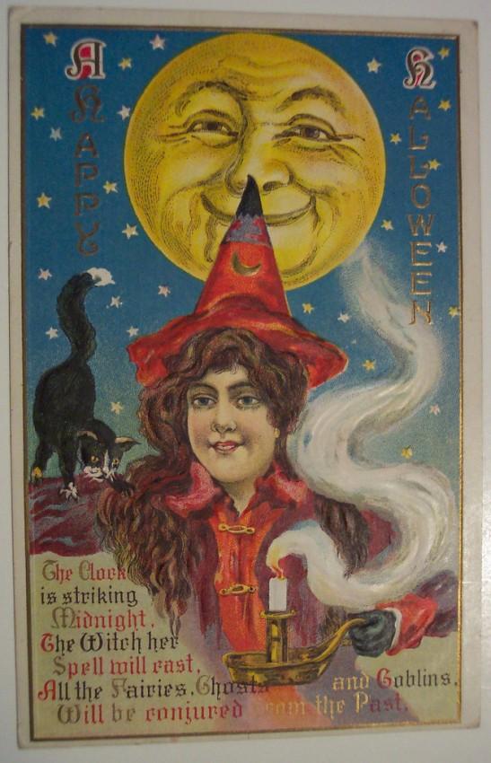 Postales Halloween retro 003