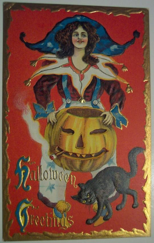 Postales Halloween retro 007