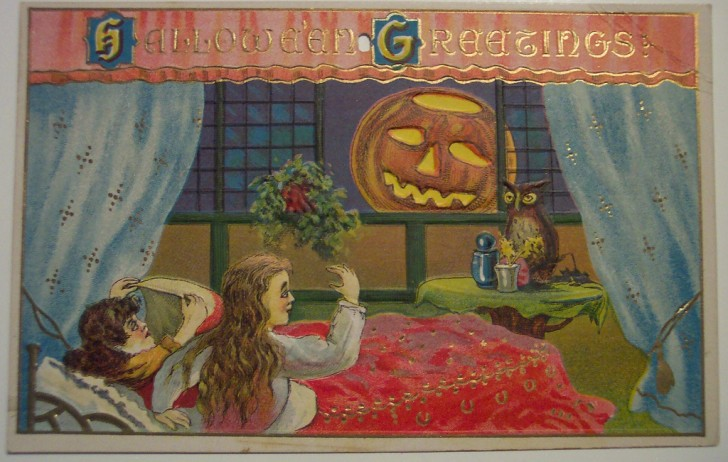 Postales Halloween retro 009