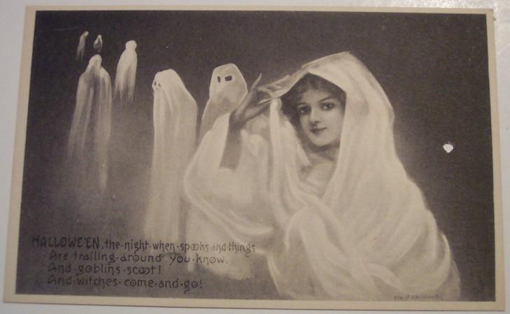 Postales Halloween retro 013
