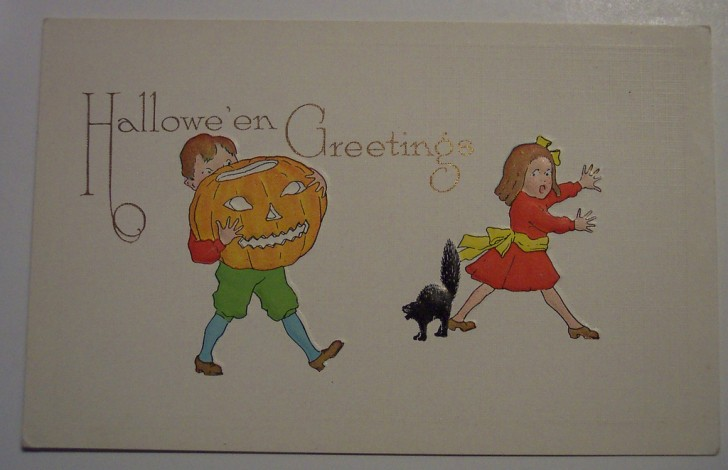 Postales Halloween retro 015