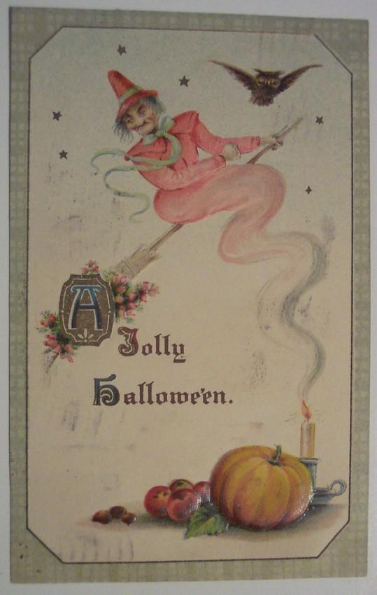 Postales Halloween retro 016