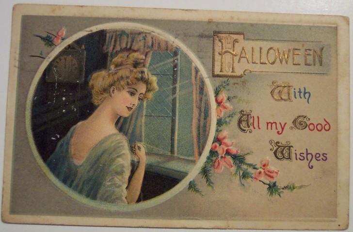 Postales Halloween retro 017