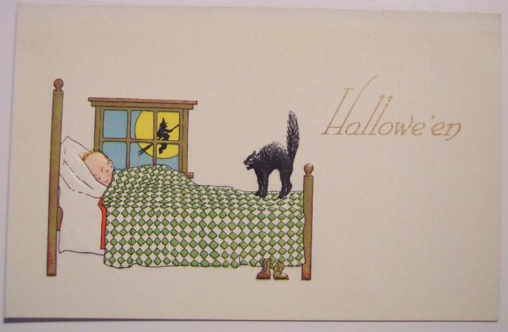 Postales Halloween retro 020