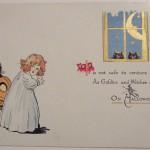Ilustraciones de Halloween antiguas