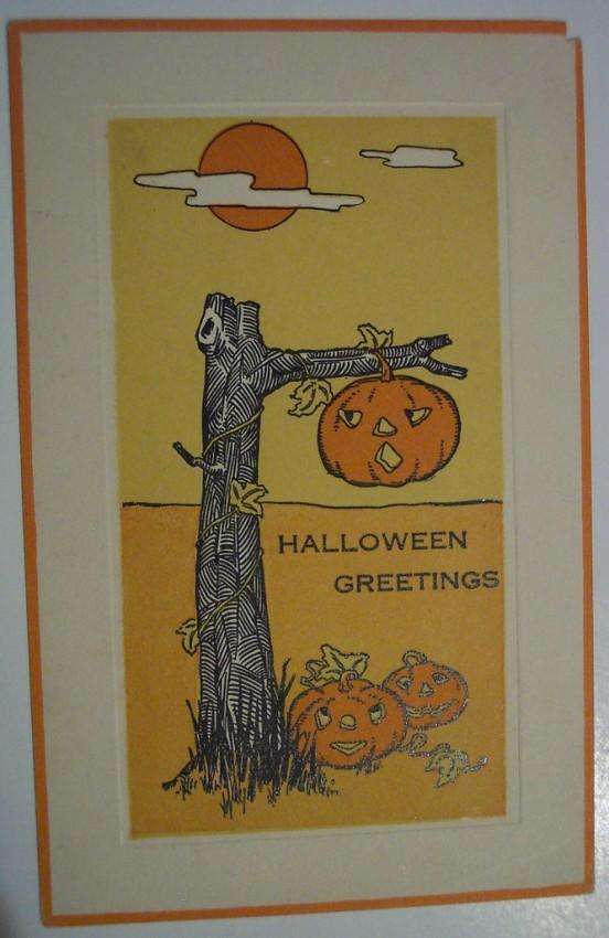 Postales Halloween retro 023