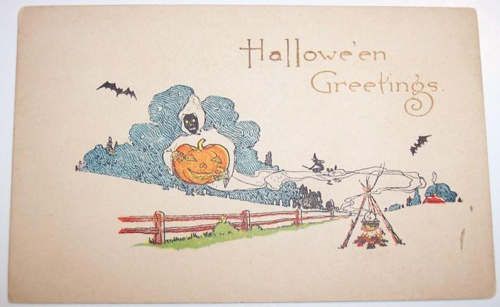 Postales Halloween retro 024