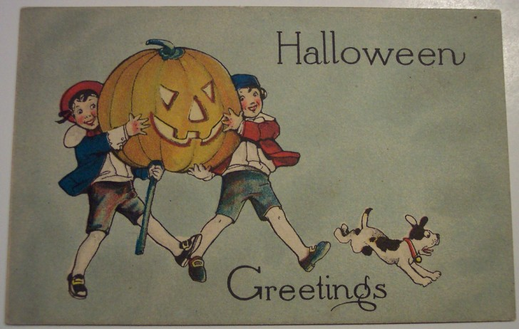 Postales Halloween retro 025
