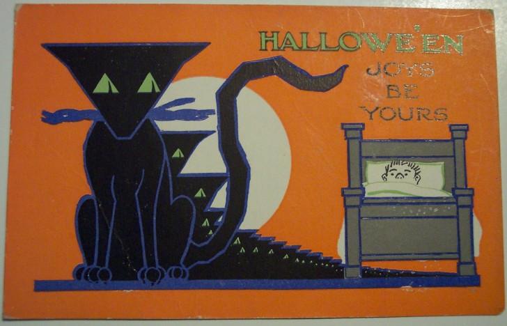 Postales Halloween retro 026