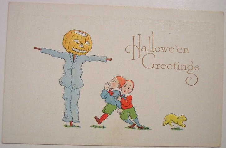 Postales Halloween retro 027
