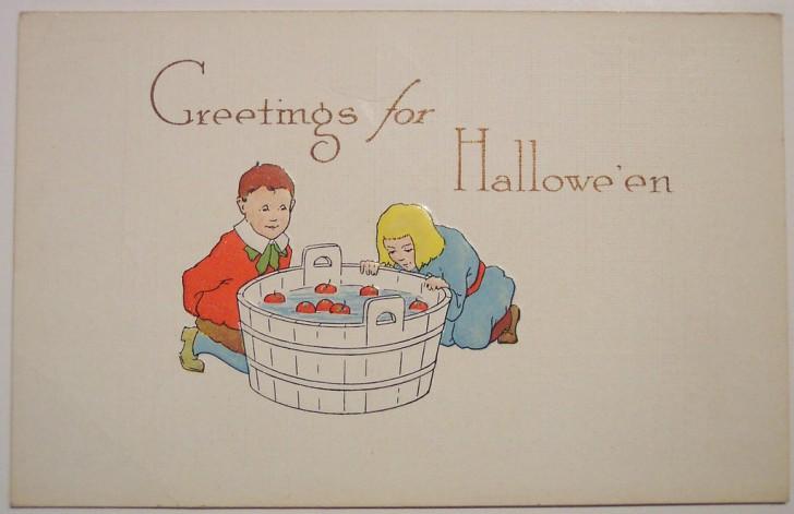 Postales Halloween retro 028