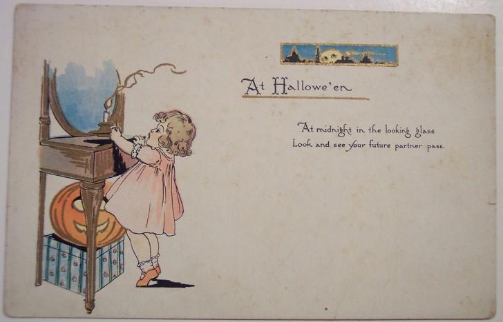 Postales Halloween retro 029