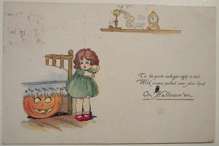Postales Halloween retro 030