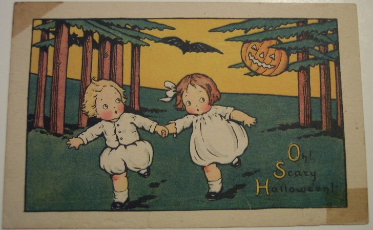 Postales Halloween retro 031