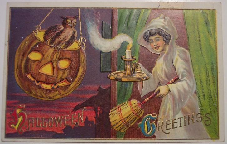 Postales Halloween retro 032