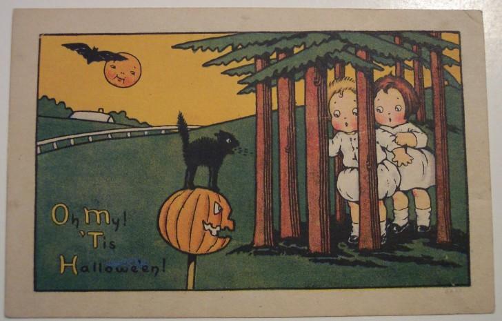 Postales Halloween retro 033